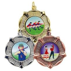 TW20-118-MD532GG / 50mm Tudor Rose Medal