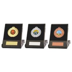 TW20-122-848CG / 50mm Medal in Black Case