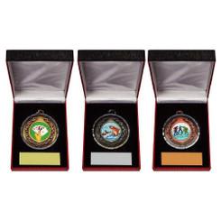 TW20-123-189CG / 50mm Medal in Luxury Case