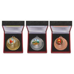 TW20-123-850CG / 50mm Medal in Luxury Case