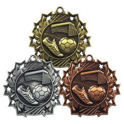 TW20-130-MD852GG / 60mm Football Boot & Ball Medal