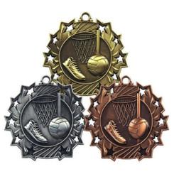 TW20-131-MD856GG / 60mm Netball Medal