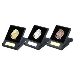 TW20-164-T.1235G / Flame Golf Medal in Case