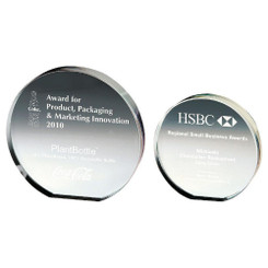 TW20-188-T.1162G / Round Crystal Corporate Award