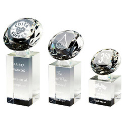 TW20-189-T.3644G / Crystal Diamond Column Award