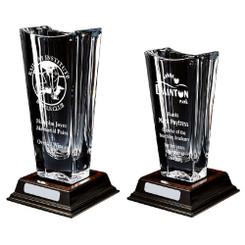 TW20-206-KL817G / Large Bohemia Crystalite Vase Award