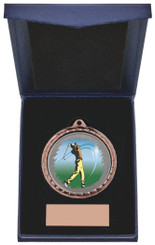 "Golf (M) Insert Medal in Presentation Case - 60cm (23 3/4"") - TW19-171-867A"
