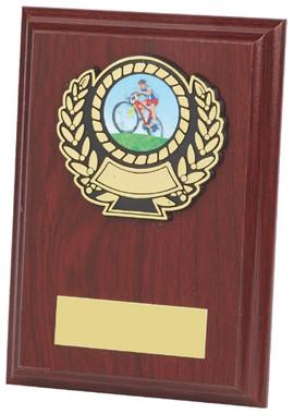 "Wood Plaque Award - 13cm (5"")"
