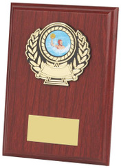 "Wood Plaque Award - 15cm (6"")"