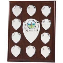 "Rectangular Presentation Shield - 23cm (9"") - TW19-120-166B"