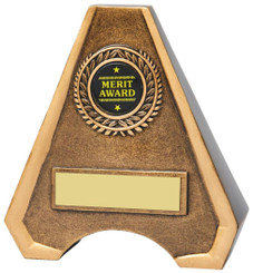 "Antique Gold Resin Awards - 13cm (5"")"