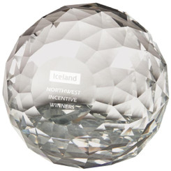 "'Crystal Maze' Paperweight Award - 8cm (3 1/4"")"