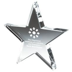 "Crystal Star Award - 15cm (6"") - TW19-193-T.7251"