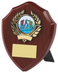 "Traditional Shield Award - 10cm (4"")"