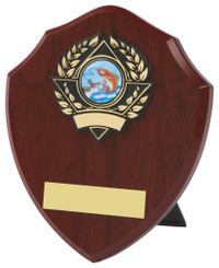 "Traditional Shield Award - 15.5cm (6 1/4"")"