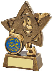 "Gold Resin Star Character Award - 11.5cm (4 3/4"")"