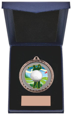 "Golf Driver Medal in Presentation Case - 60cm (23 3/4"") - TW19-171-869A"