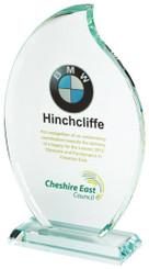 "Crystal Flame Award for Colour Printing - 14.5cm (5 3/4"")"