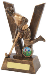 "'V' for Victory Men's Hockey Award - TW18-085-RS505 - 19cm (7 1/2"")"