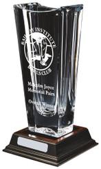 """Large Bohemia Crystalite Vase Award - 34cm (13 1/4"""")"""