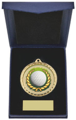 "Golf Ball Insert Medal in Presentation Case - 60cm (23 3/4"") - TW19-171-870A"