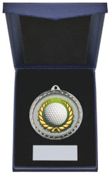 "Golf Ball Insert Medal in Presentation Case - 60cm (23 3/4"") - TW19-171-870B"