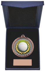 "Golf Ball Insert Medal in Presentation Case - 60cm (23 3/4"") - TW19-171-870C"