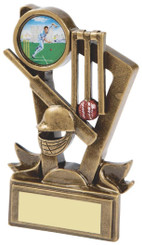 "Gold Cricket Resin Trophy - 11cm (4 1/4"")"