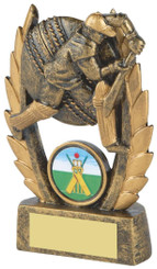 "Gold Male Cricket Resin Award - 11cm (4 1/4"")"