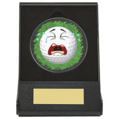 Black Case Golf Collectable - Crying - Dia 60mm