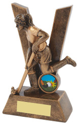 "Women's Hockey Trophy - 16cm (6 1/4"")"
