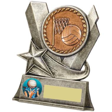 """Metal Netball Stand Award - 11.5cm (4 3/4"""")"""