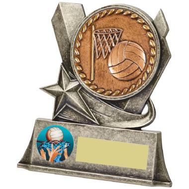 """Metal Netball Stand Award - 10cm (4"""")"""
