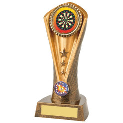 Antique Gold Darts Cobra Trophy - 19cm