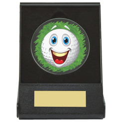 Black Case Golf Collectable - Happy - Dia 60mm