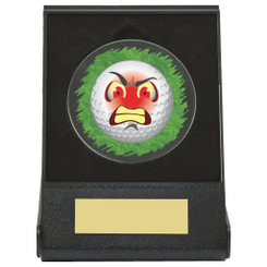 Black Case Golf Collectable - Angry - Dia 60mm