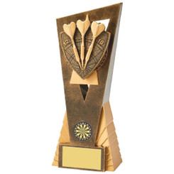 Antique Gold Darts Edge Award - 21cm