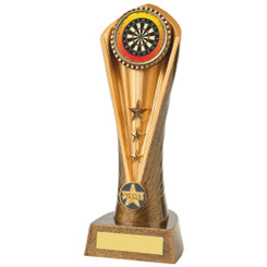 Antique Gold Darts Cobra Trophy - 23cm