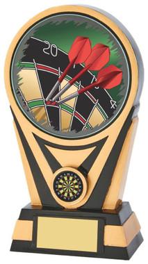"Black Gold Darts Resin holder - 20cm (8"")"