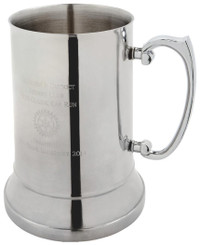 One Pint Stainless Steel Tankard in Presentation Case - 1Pt