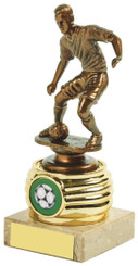 "Gold Men's Football Trophy - 14cm (5 1/2"") - TW18-024-502B"