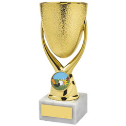 "Gold 'Egg Cup' Bowl Awards - 16cm (6 1/4"") - TW19-109-1110A"