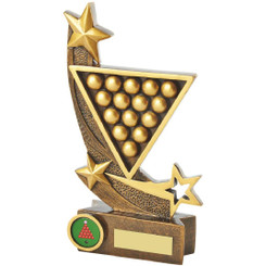 "Gold Resin Snooker Award - 21cm (8 1/4"")"
