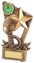 "Gold Resin Star Award - 9cm (3 3/4"")"