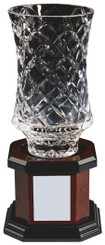 "Lead Crystal Vase Award - 30cm (12"")"