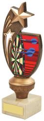 "Antique Gold Darts Star Award - 17cm (6 3/4"")"