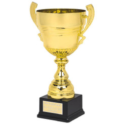 Large Gold Presentation Cup on Black Base - 51cm