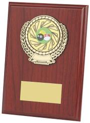 "Wood Plaque Award - 18cm (7"")"