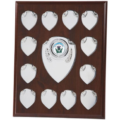"Rectangular Presentation Shield - 25.5cm (10"") - TW19-120-166A"