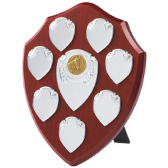 "Traditional Annual Shield Trophy - 20cm (8"")"
